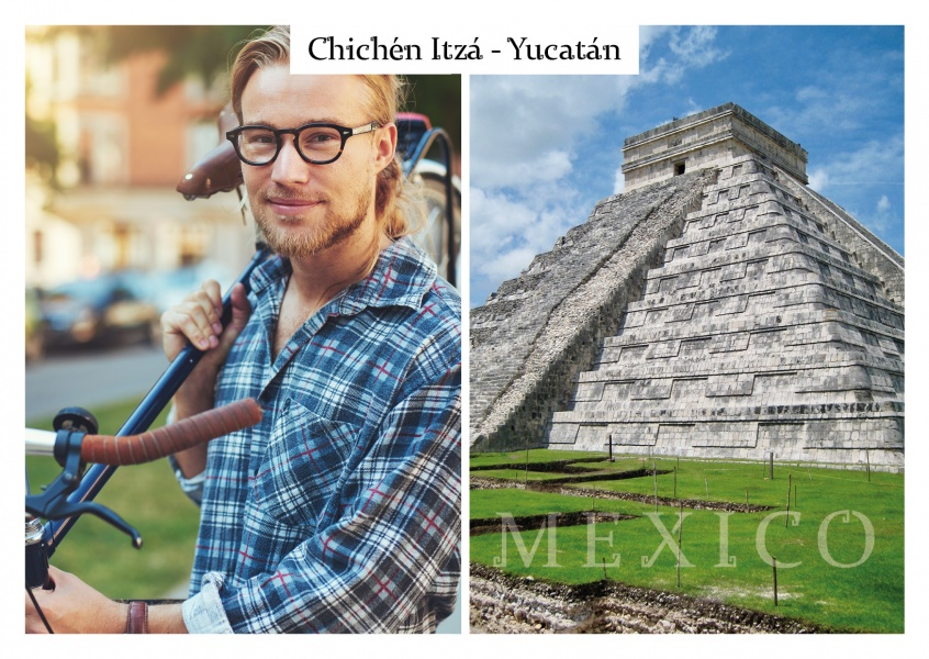 Photo Chichén Itzá template