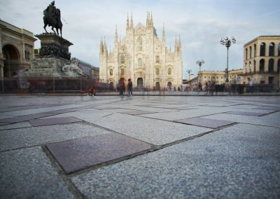 James Graf photo Milan cathedral