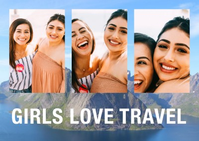 Girls LOVE Travel Girls LOVE travel