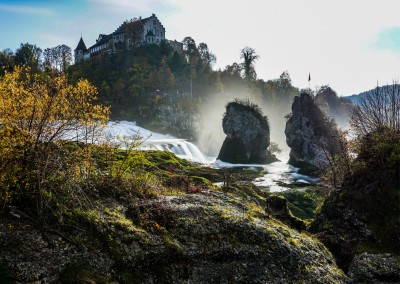 James Graf photo Rhine Falls