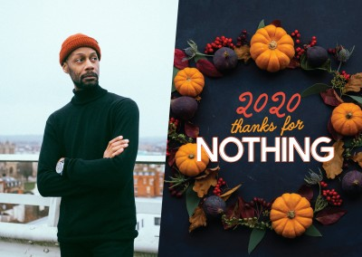 2020 - Thanks for nothing - kurbis hintergrund