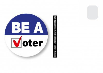 Be a voter