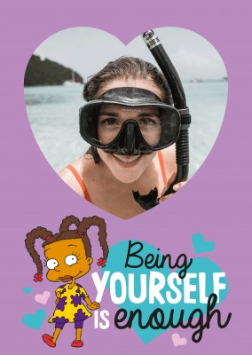 Being yourself is enough
