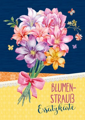 Blumenstrauß Illustration