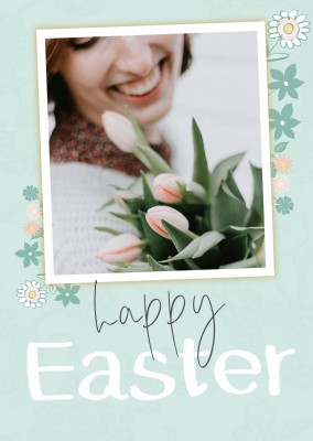 postcard HAPPY EASTER