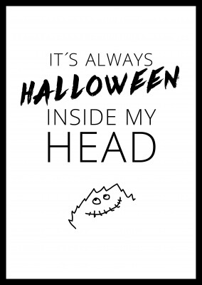 Halloween inside my head.