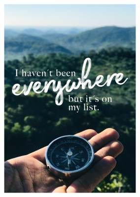 I haven´t been everywhere but it´s on my list.
