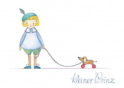 Illustration kleiner Prinz