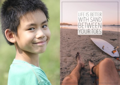LIFE IS BETTER WITH SAND BETWEEN YOUR TOES
