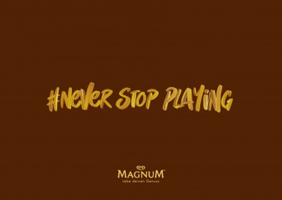 Magnum House of play #never stop playing