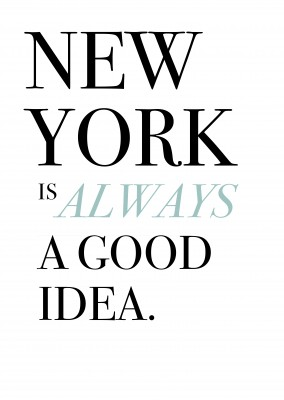 new york quot on a postcard