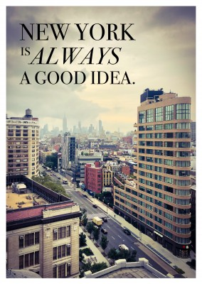 new york skyline photo quote