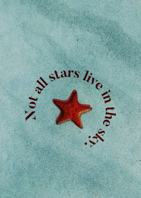 Not all stars live in the sky