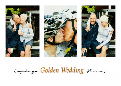 postcard On your Golden Wedding Anniversary