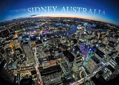 Bird's Eye view of Sydney's downtown distric