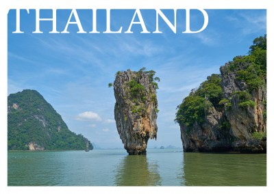 Thailand, James Bond Felsen