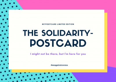 THE SOLIDARITY-POSTCARD