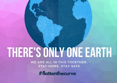 THERE´S ONLY ONE EARTH