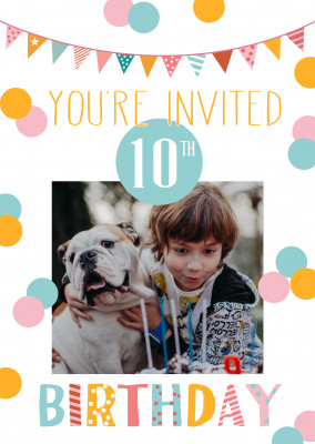 You're invited 10th birthday