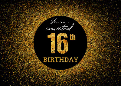 You're invited 16th Birthday