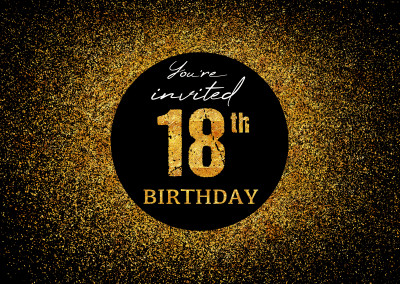 You're invited 18th Birthday