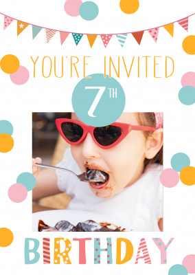 You're invited 7th birthday