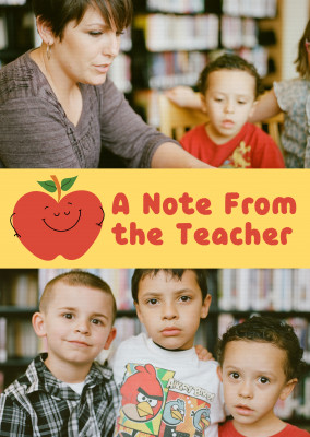 A Note From the Teacher