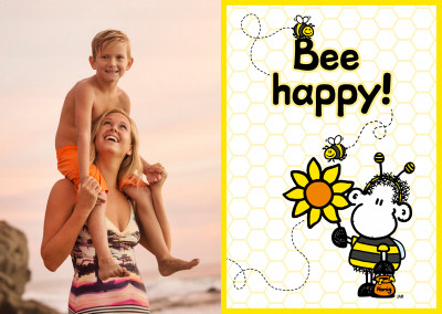 Sheepworld Bee happy!