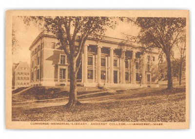 Amherst, Massachusetts, Converse Memorial Library, Amherst College
