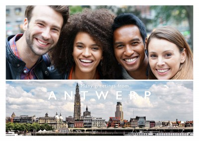Antwerp skyline photo