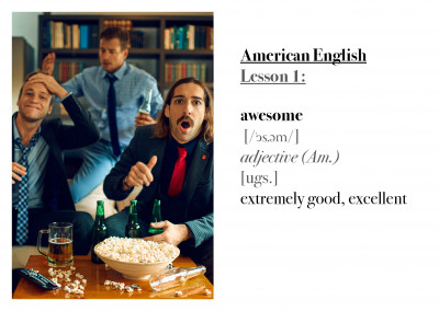 HEIMAT abroad – American English lesson 1: awesome