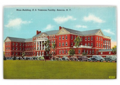 Batavia, New York, Main Building, U.S. Veterans Facility