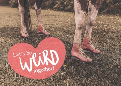 Let´s be weird together