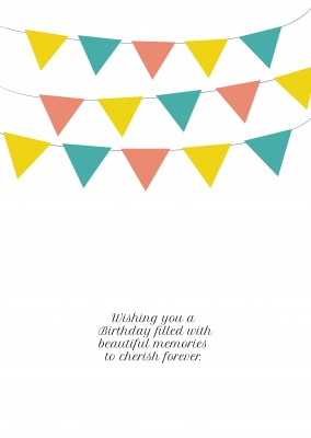 card with birthday wishes