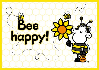 Sheepworld Abeja feliz!