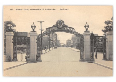 Berkeley, California, Sather gate, University of California