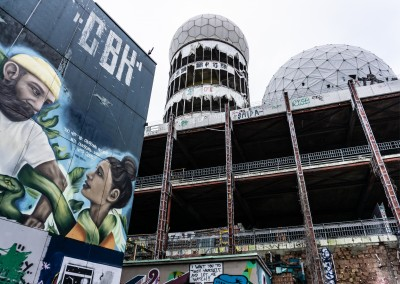 James Graf photo de Berlin Teufelsberg