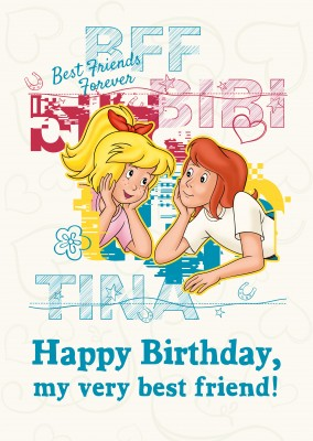 Bibi and Tina artwork