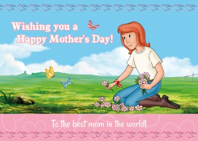Tina happy mother's day artwork