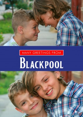 Blackpool in Union Jack Farben & Schrift