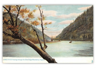 Blue Ridge Mountains, Virginia, James River