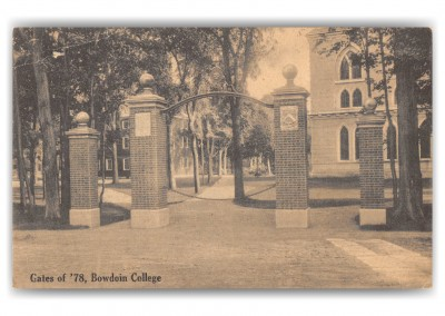 Brunswick, Maine, Gates of '78, Bowdoin College