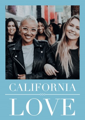 foto cartolina di California Love
