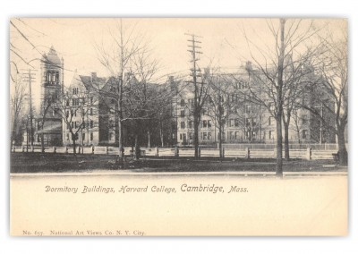 Cambridge, Massachusetts, Dormitory Buildings, Harvard College