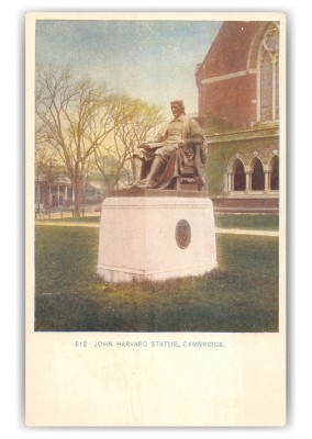 Cambridge, Massachusetts, John Harvard Statue