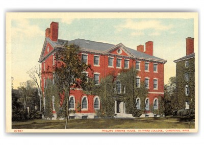 Cambridge, Massachusetts, Phillips Brooks House, Harvard College