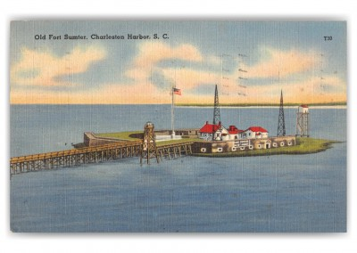 Charleston, South Carolina, Old Fort Sumter
