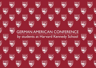German American Conference checkered red