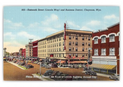 Cheyenne, Wyoming, Sixteenth Street and Buisness District