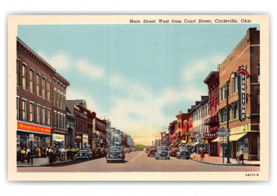 Circleville, Ohio, Main Street west from Court